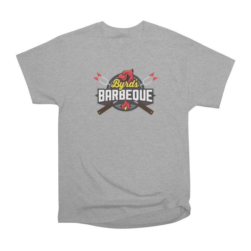 Byrds BBQ Men's Heavyweight T-Shirt by Walters Media & Design
