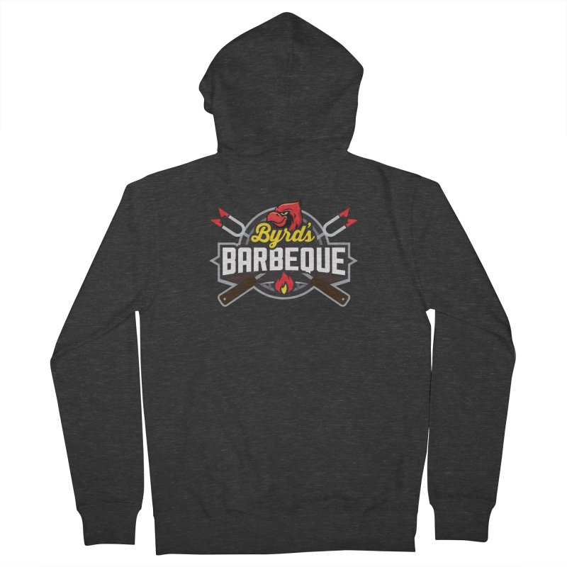 Byrds BBQ Women's French Terry Zip-Up Hoody by Walters Media & Design