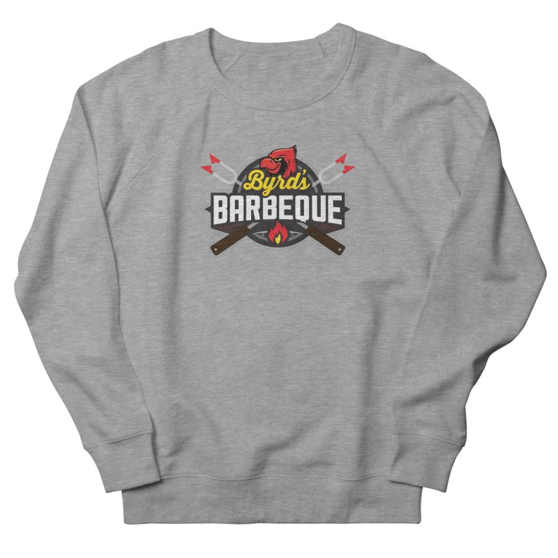 Byrds BBQ Men's French Terry Sweatshirt by Walters Media & Design