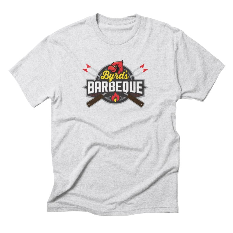 Byrds BBQ Men's Triblend T-Shirt by Walters Media & Design
