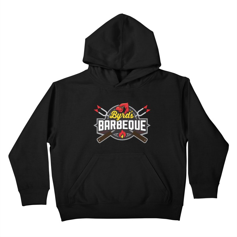 Byrds BBQ Kids Pullover Hoody by Walters Media & Design