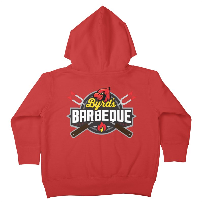 Byrds BBQ Kids Toddler Zip-Up Hoody by Walters Media & Design