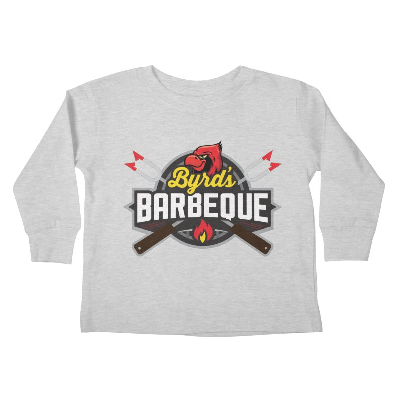 Byrds BBQ Kids Toddler Longsleeve T-Shirt by Walters Media & Design