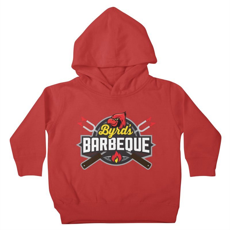 Byrds BBQ Kids Toddler Pullover Hoody by Walters Media & Design