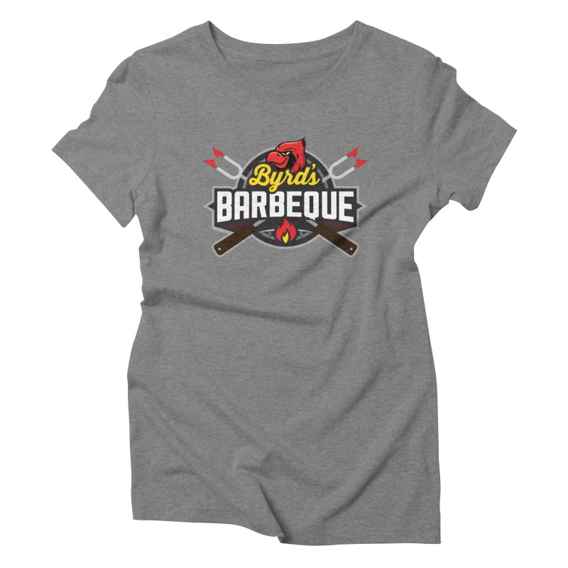 Byrds BBQ Women's Triblend T-Shirt by Walters Media & Design