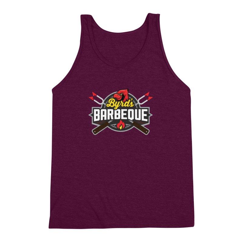 Byrds BBQ Men's Triblend Tank by Walters Media & Design