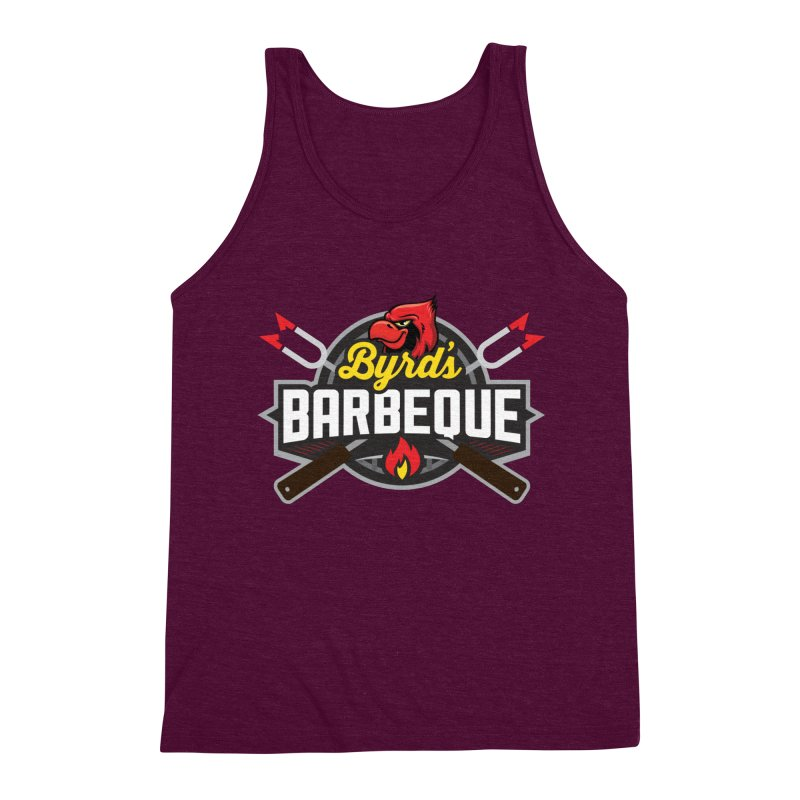 Byrds BBQ Men's Triblend Tank by Walters Media & Design