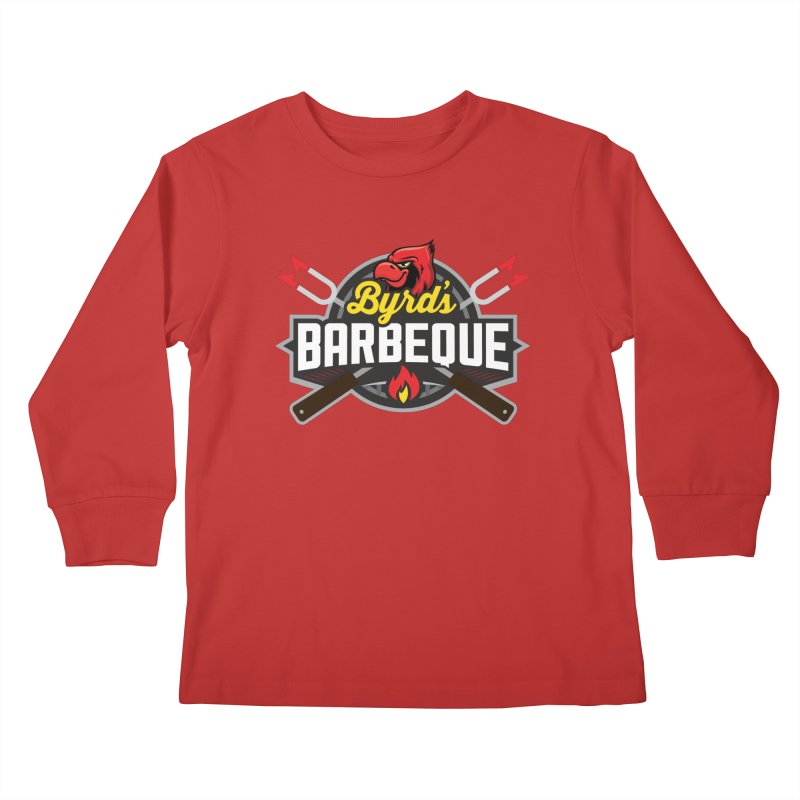 Byrds BBQ Kids Longsleeve T-Shirt by Walters Media & Design