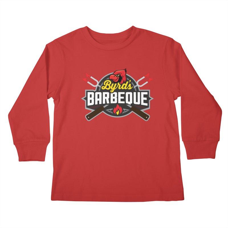 Byrds BBQ Kids Longsleeve T-Shirt by Walters Media & Design