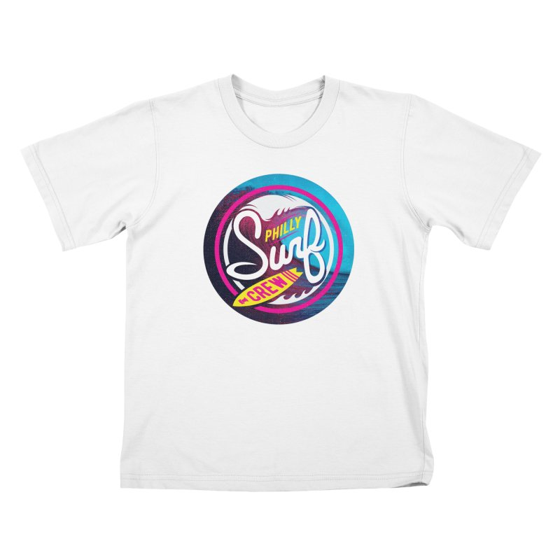 PSC 80s neon Kids T-Shirt by Walters Media & Design