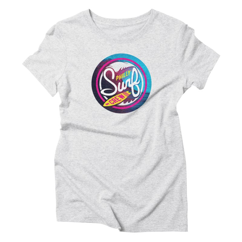PSC 80s neon Women's Triblend T-Shirt by Walters Media & Design