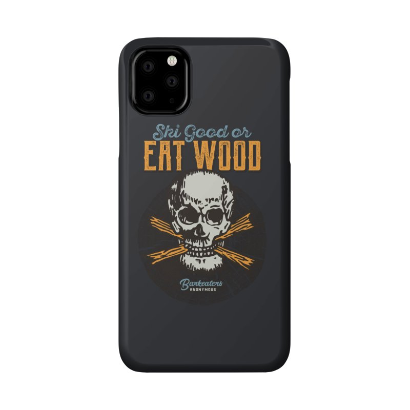 Barkeaters Anonymous – Ski Good! Accessories Phone Case by Walters Media & Design