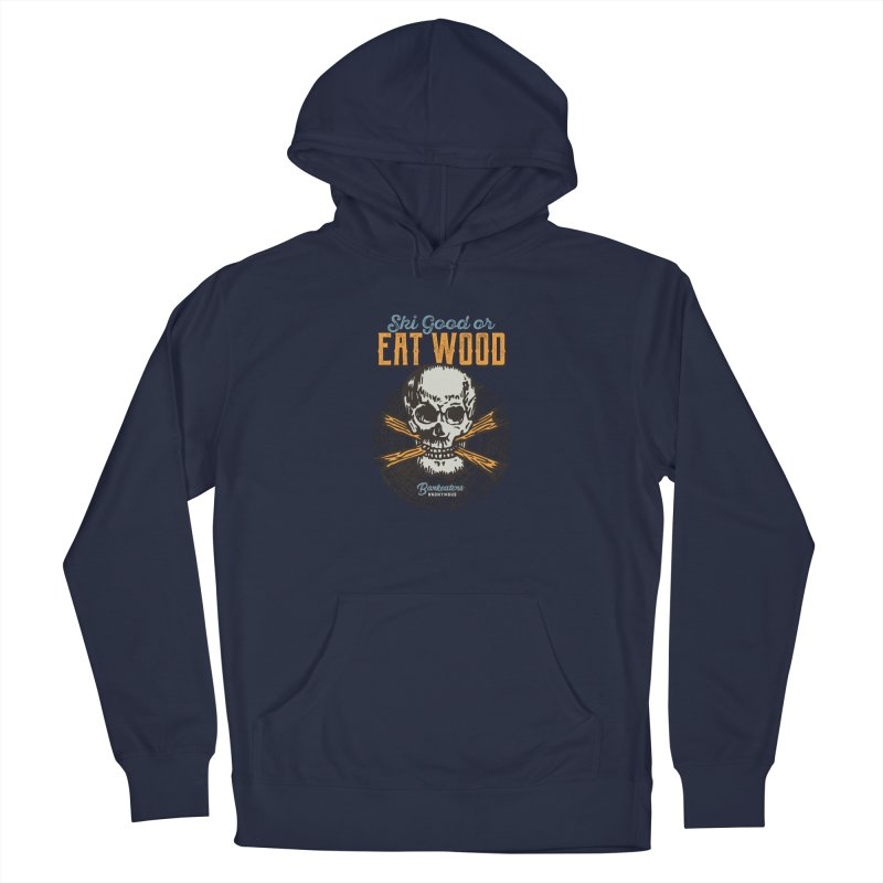 Barkeaters Anonymous – Ski Good! Men's Pullover Hoody by Walters Media & Design