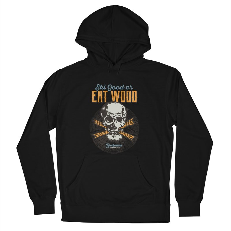 Barkeaters Anonymous – Ski Good! Men's French Terry Pullover Hoody by Walters Media & Design