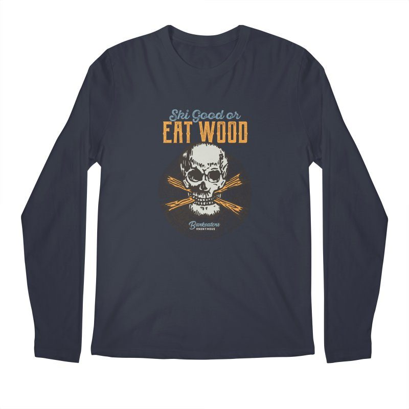 Barkeaters Anonymous – Ski Good! Men's Regular Longsleeve T-Shirt by Walters Media & Design