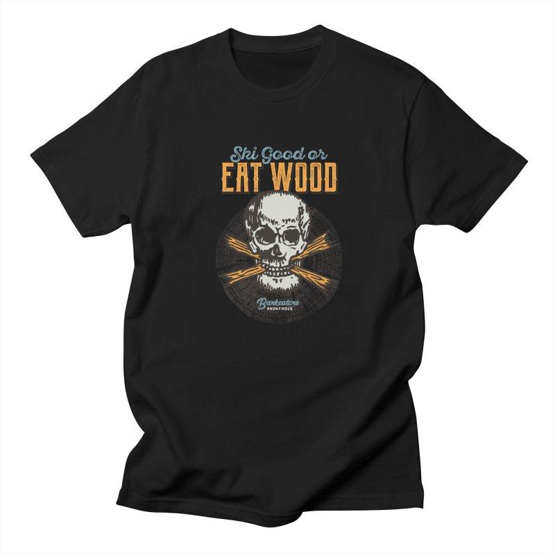 Barkeaters Anonymous – Ski Good! Men's Regular T-Shirt by Walters Media & Design