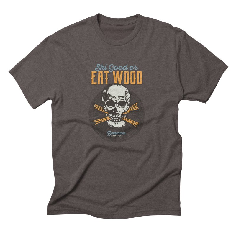 Barkeaters Anonymous – Ski Good! Men's Triblend T-Shirt by Walters Media & Design