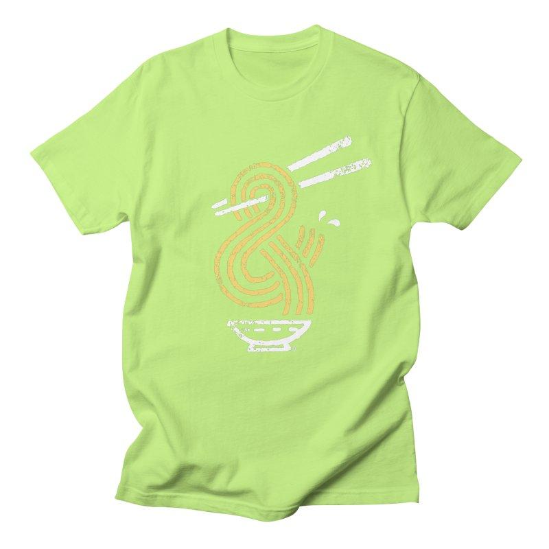 Ramen Ampersand Men's Regular T-Shirt by Petiches's Artist Shop