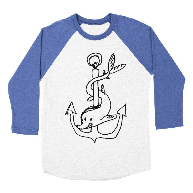 Festina Lente Men's Baseball Triblend T-Shirt by Petiches's Artist Shop