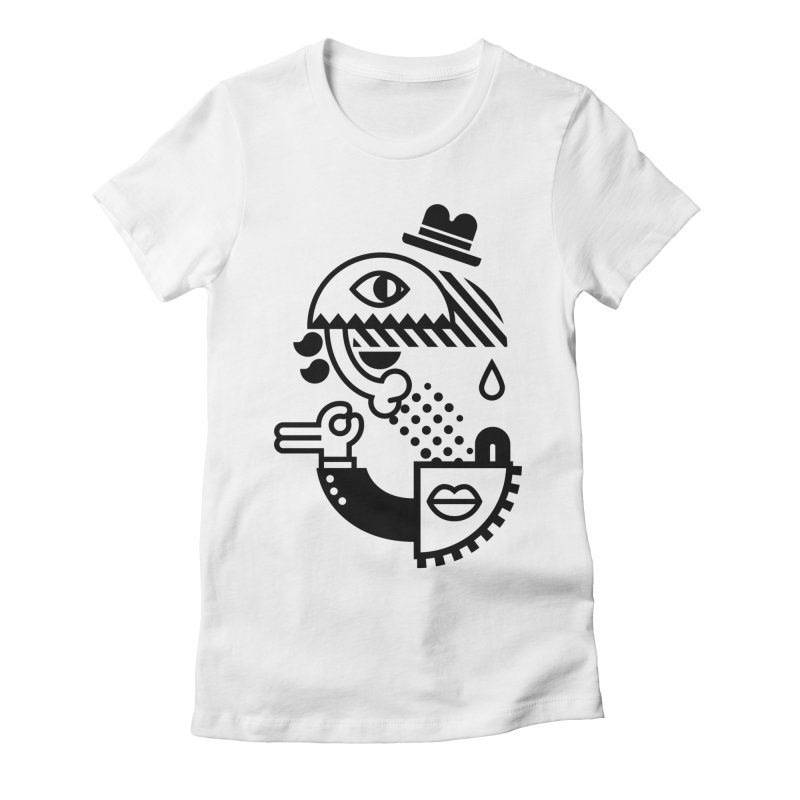 S Women's Fitted T-Shirt by Petiches's Artist Shop