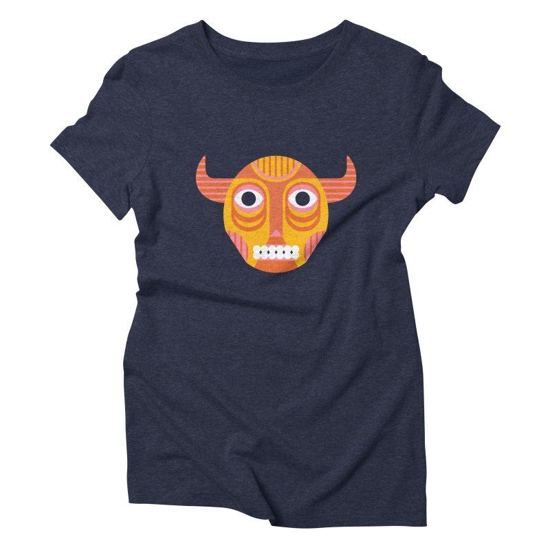 Diablo Women's Triblend T-Shirt by Petiches's Artist Shop