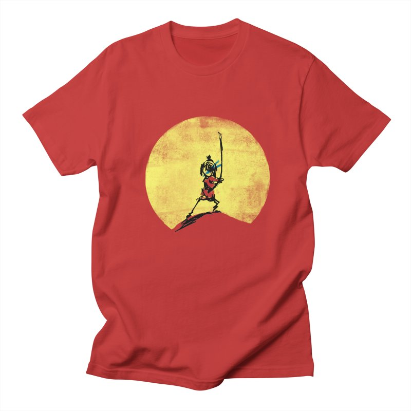 Kubo's Hero Stance Men's T-Shirt by Petiches's Artist Shop