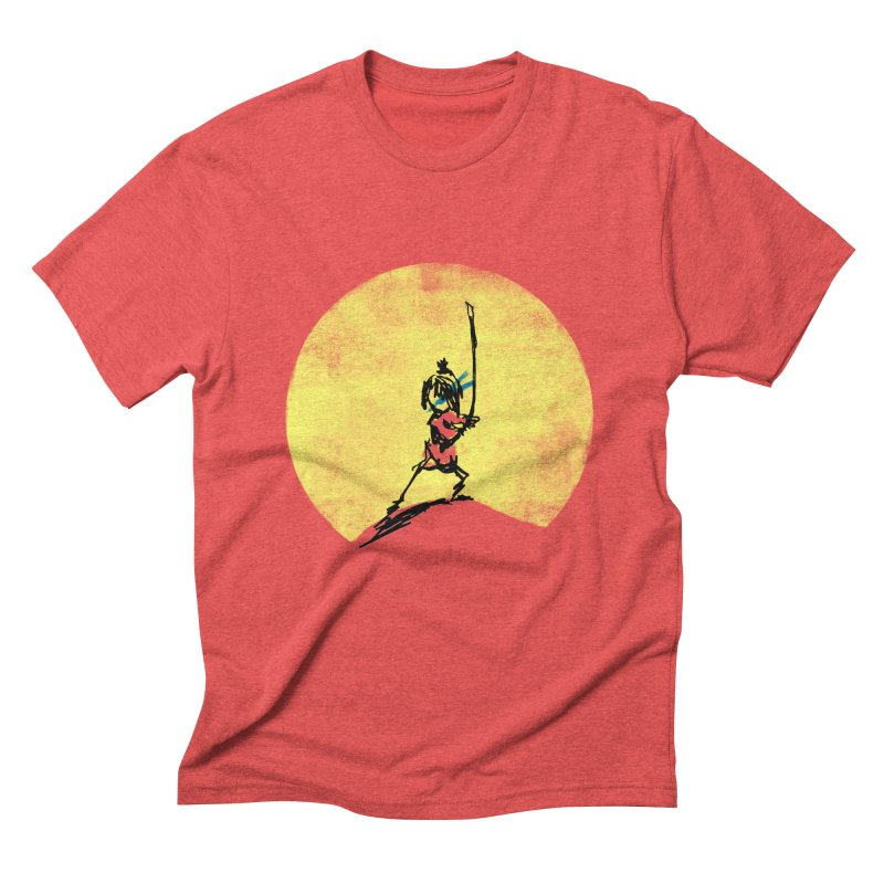 Kubo's Hero Stance Men's Triblend T-shirt by Petiches's Artist Shop