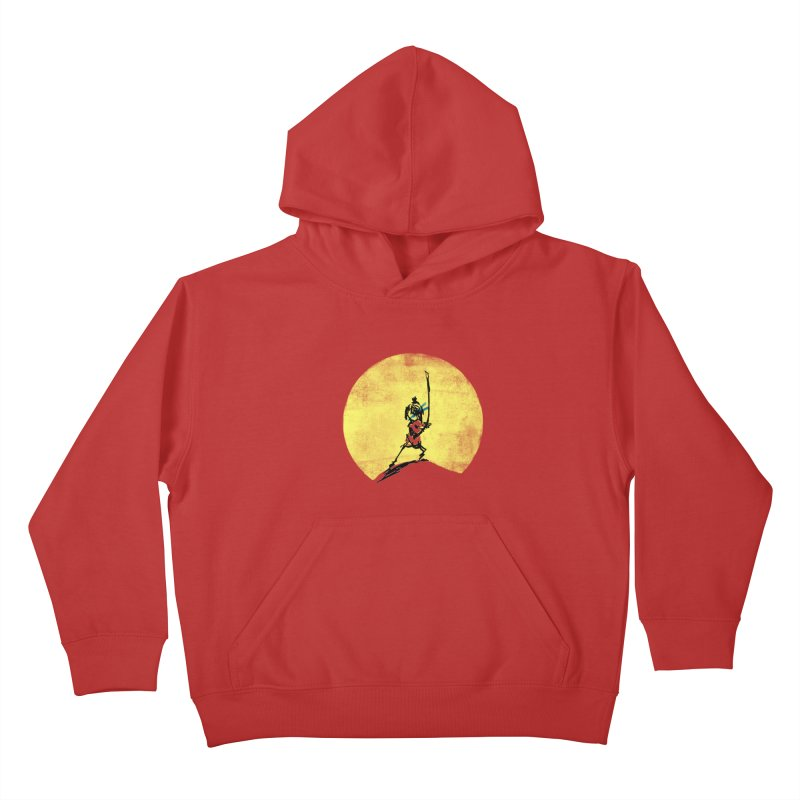Kubo's Hero Stance Kids Pullover Hoody by Petiches's Artist Shop