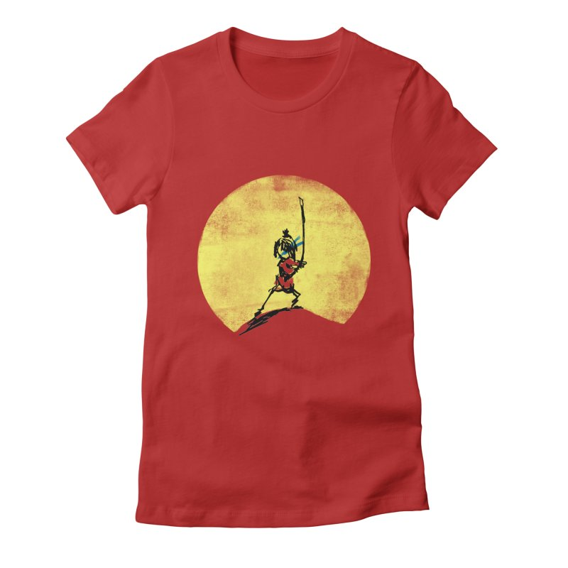 Kubo's Hero Stance Women's Fitted T-Shirt by Petiches's Artist Shop