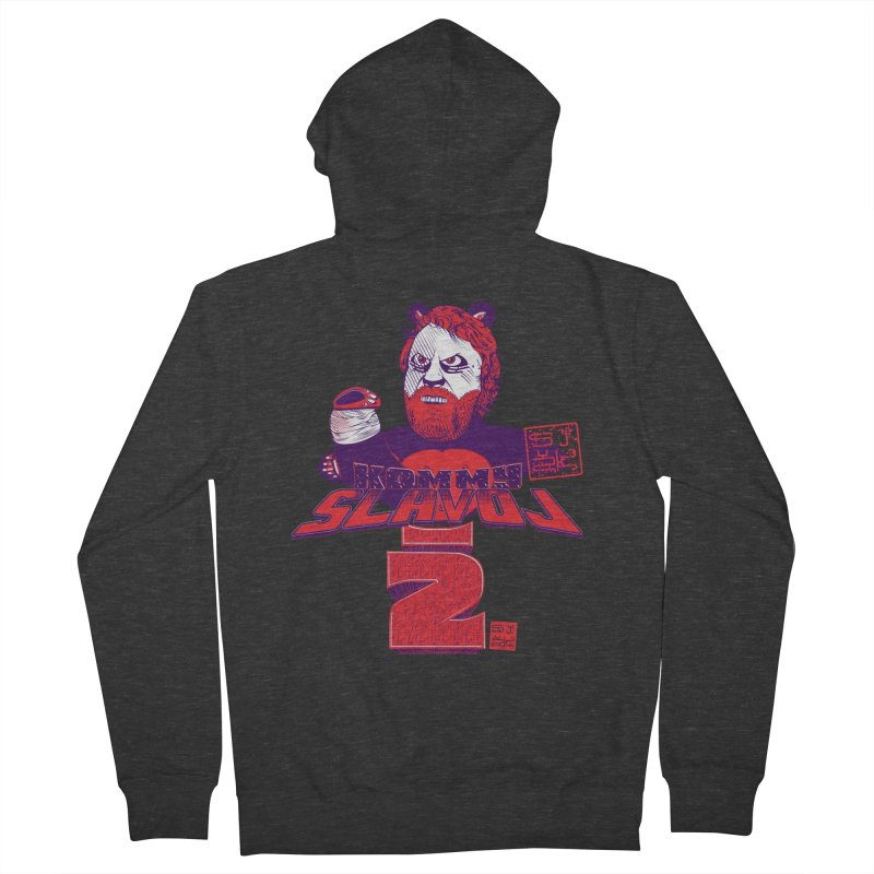 Kommy Slavoj Z. Men's Zip-Up Hoody by petitnicolas's Artist Shop