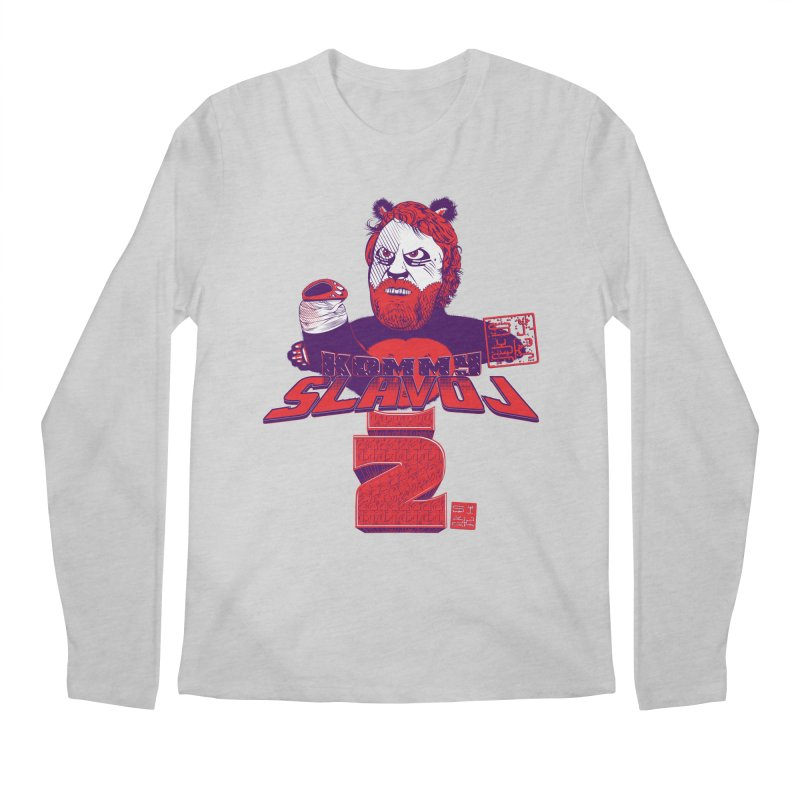 Kommy Slavoj Z. Men's Longsleeve T-Shirt by petitnicolas's Artist Shop