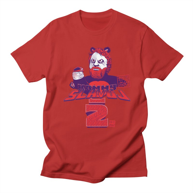 Kommy Slavoj Z. Men's T-shirt by petitnicolas's Artist Shop