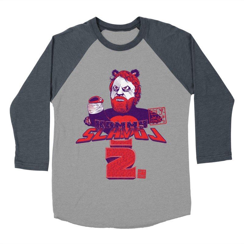 Kommy Slavoj Z. Women's Baseball Triblend T-Shirt by petitnicolas's Artist Shop