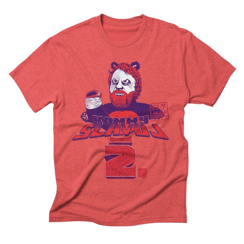 Kommy Slavoj Z. Men's Triblend T-shirt by petitnicolas's Artist Shop