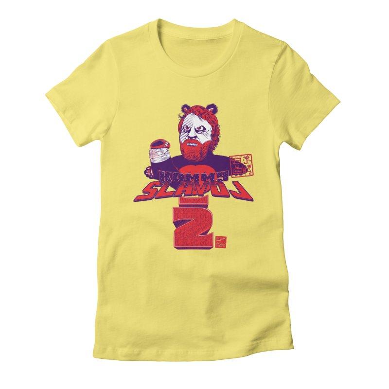 Kommy Slavoj Z. Women's Fitted T-Shirt by petitnicolas's Artist Shop