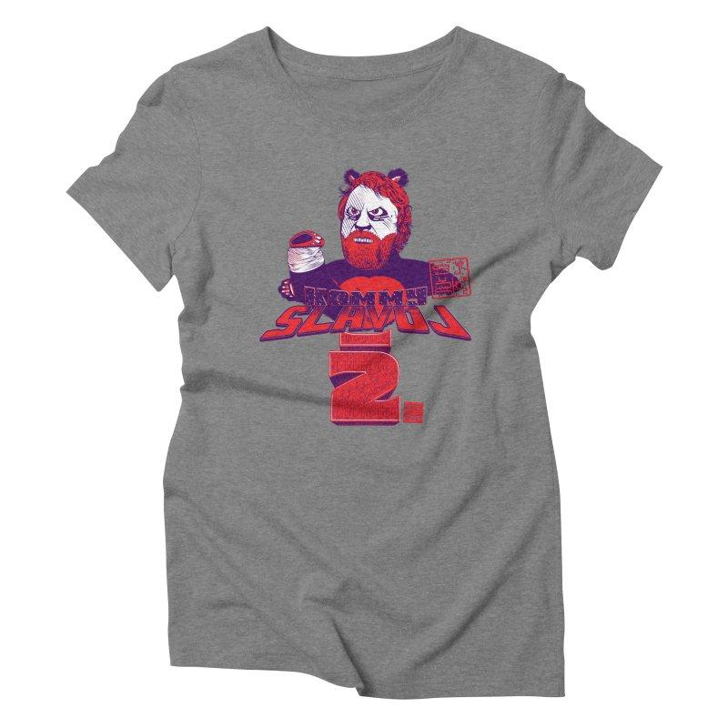 Kommy Slavoj Z. Women's Triblend T-shirt by petitnicolas's Artist Shop