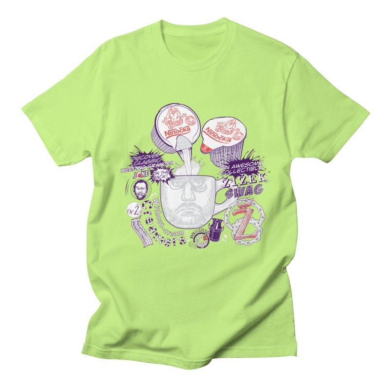 Zizek's Without-cream Creamer Men's T-shirt by petitnicolas's Artist Shop