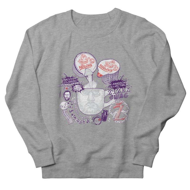 Zizek's Without-cream Creamer Women's Sweatshirt by petitnicolas's Artist Shop