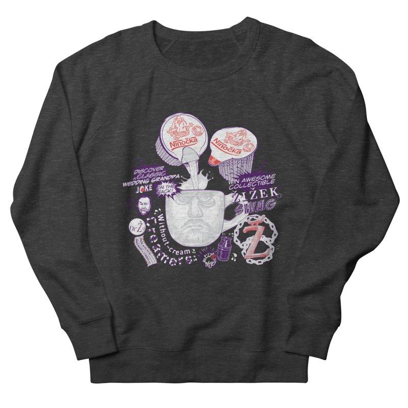 Zizek's Without-cream Creamer Men's Sweatshirt by petitnicolas's Artist Shop