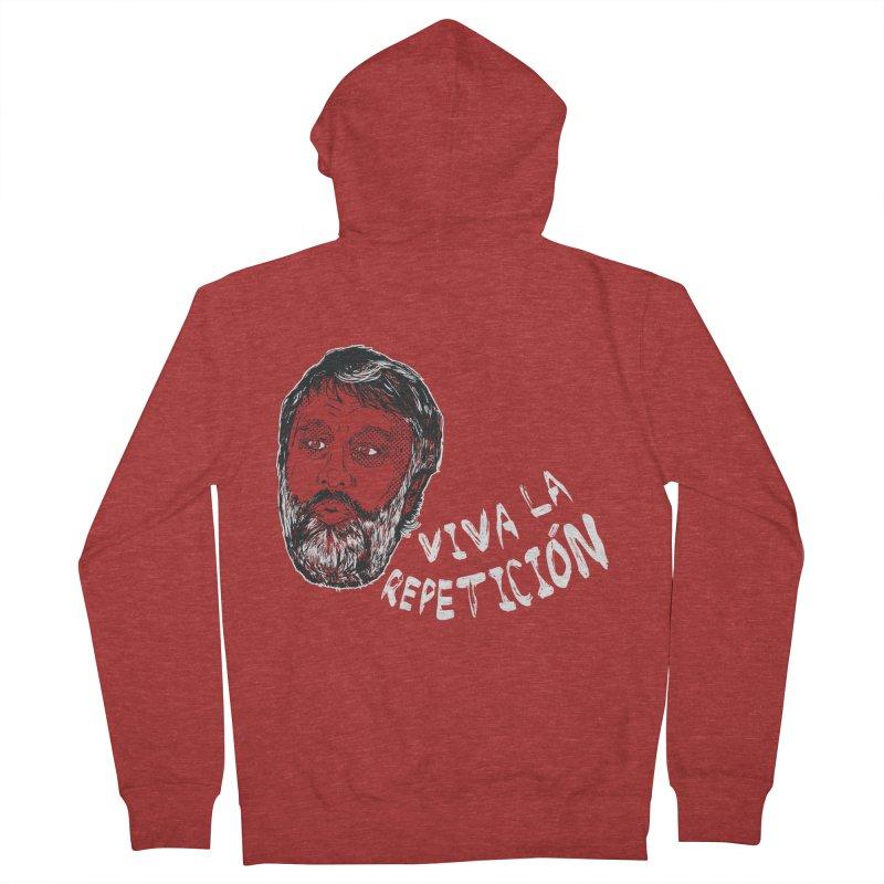 Viva la Repeticion ! Men's Zip-Up Hoody by petitnicolas's Artist Shop