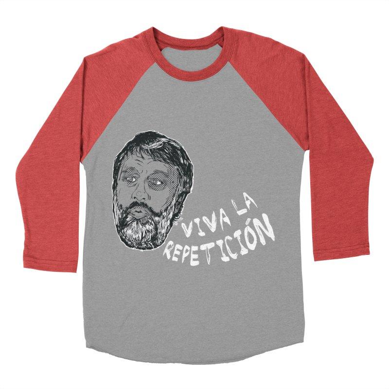 Viva la Repeticion ! Men's Baseball Triblend T-Shirt by petitnicolas's Artist Shop