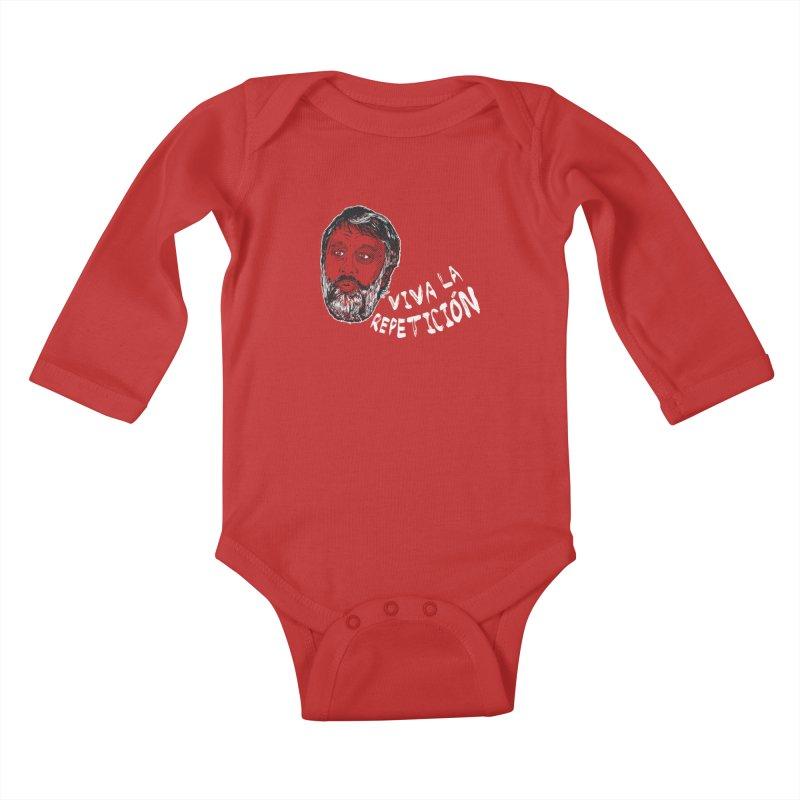 Viva la Repeticion ! Kids Baby Longsleeve Bodysuit by petitnicolas's Artist Shop