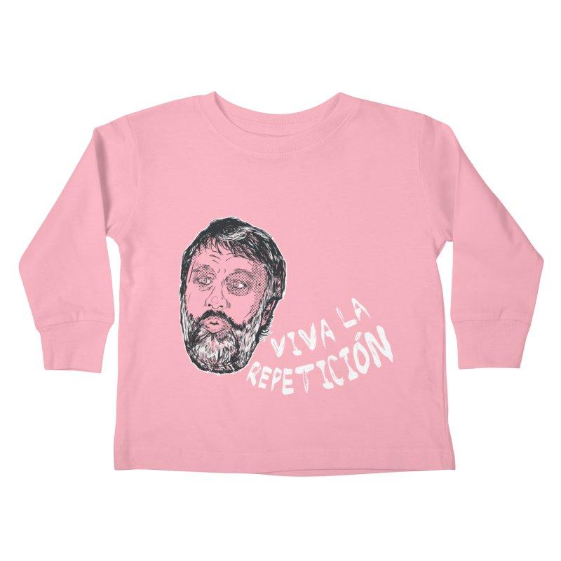 Viva la Repeticion ! Kids Toddler Longsleeve T-Shirt by petitnicolas's Artist Shop