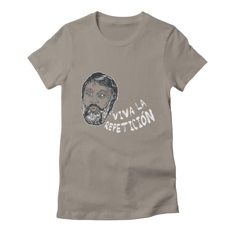 Viva la Repeticion ! Women's Fitted T-Shirt by petitnicolas's Artist Shop