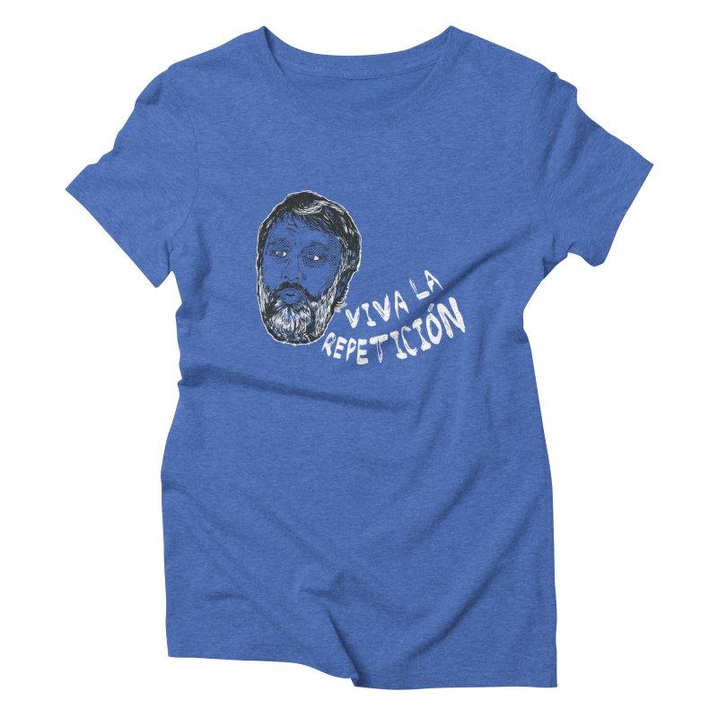 Viva la Repeticion ! Women's Triblend T-shirt by petitnicolas's Artist Shop