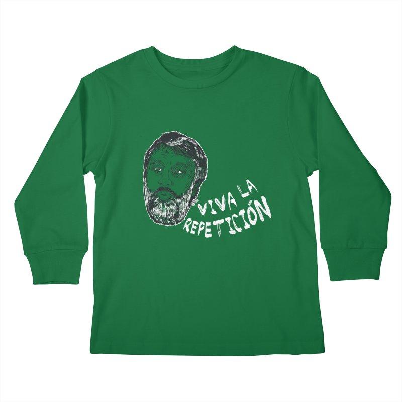 Viva la Repeticion ! Kids Longsleeve T-Shirt by petitnicolas's Artist Shop