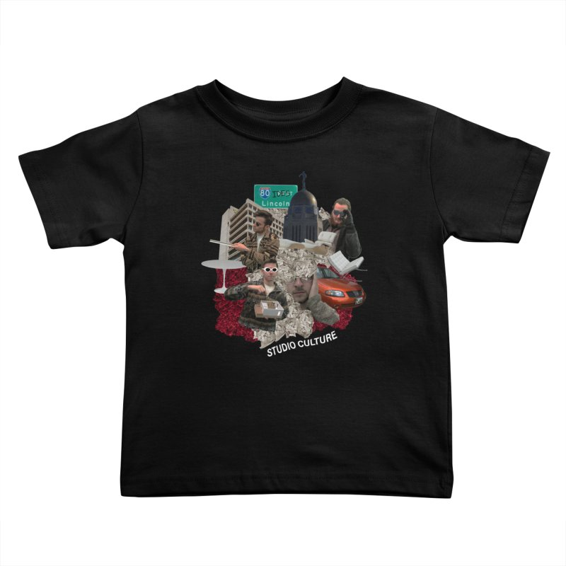 Studio Clutue Kids Toddler T-Shirt by Petty Apparel