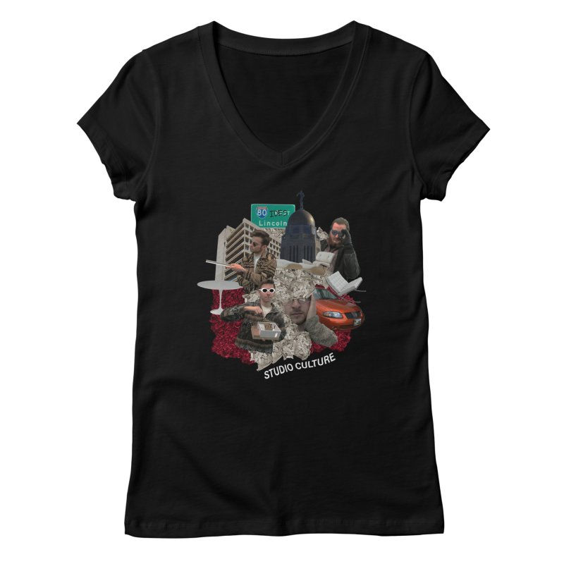 Studio Clutue Women's V-Neck by Petty Apparel