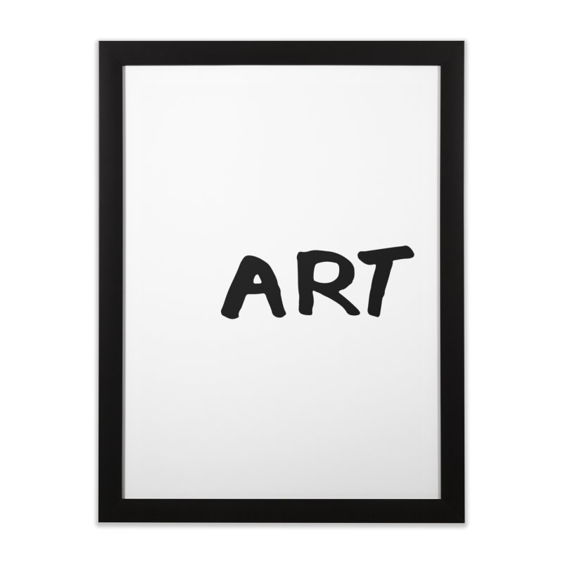 Art Home Framed Fine Art Print by Petty Designs