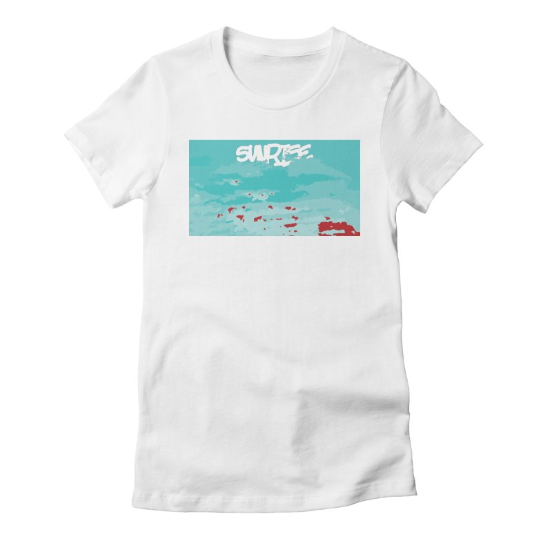 Sunrise Women's Fitted T-Shirt by Petty Designs